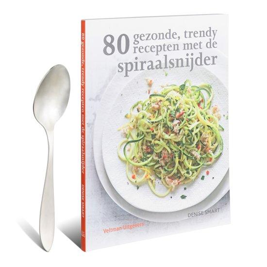 boek 80 gezonde recepten met de spiraalsnijder