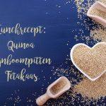 Quinoa recept met feta en pijnboompitten