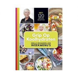Het kookboek grip op koolhyraten nu te koop in de shop van Ongeveertig