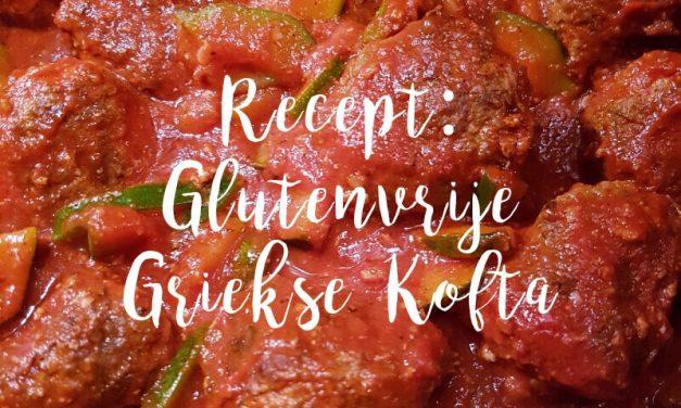 Recept voor glutenvrije en gezonde Griekse Kofta