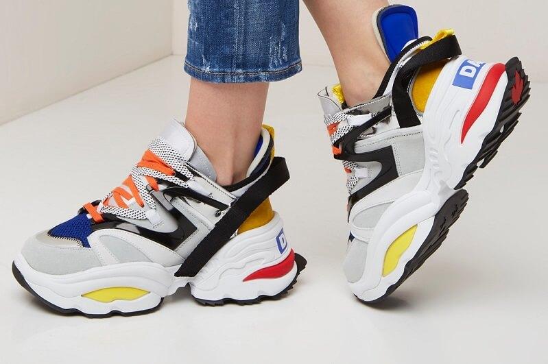 Sneaker trends van 2019