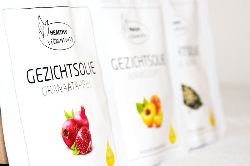 Healthy vitamins gezichtsolie review
