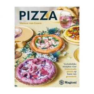 kookboek pizza voor gezonde pizza's met groenten
