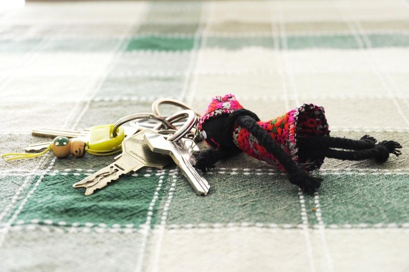 sleutels kwijt raken